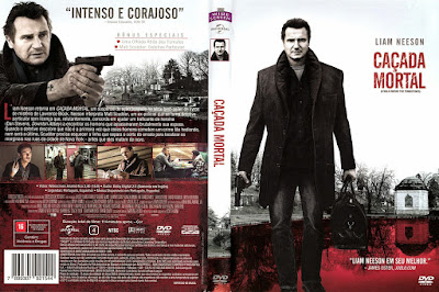 Filme Caçada Mortal (A Walk Among the Tombstones) DVD Capa