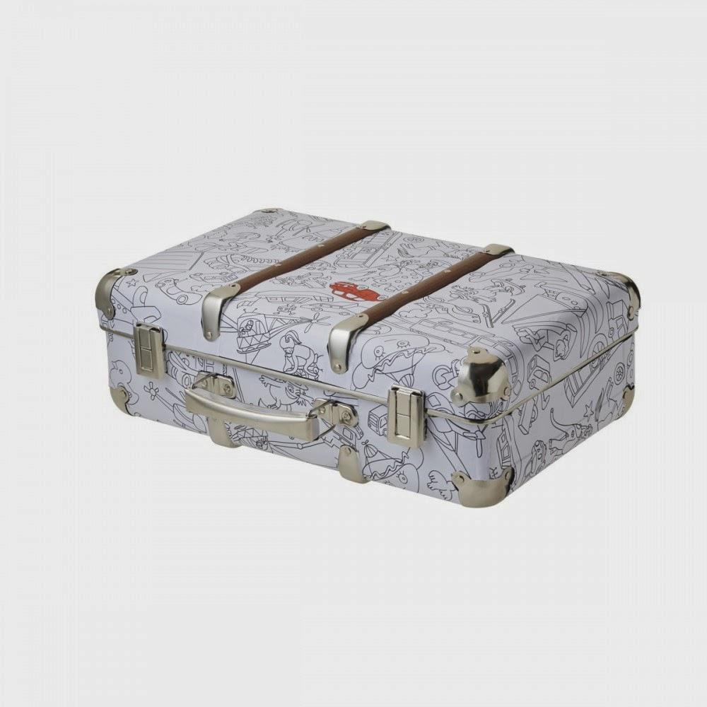 pour ma douceur ma valise en carton. Black Bedroom Furniture Sets. Home Design Ideas