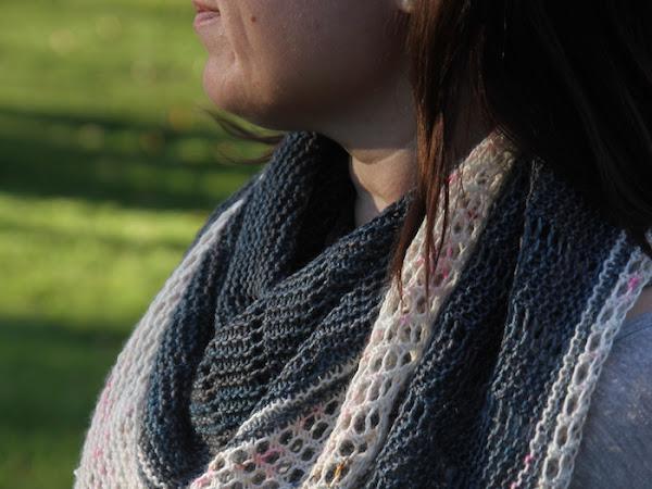 Lighthouse shawl