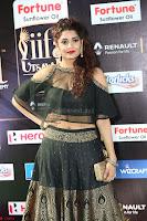 Ritika Singh in a Ethnic Deep Neck Dark Green Choli Ghagra at IIFA Utsavam Awards March 2017 ~ 058.JPG