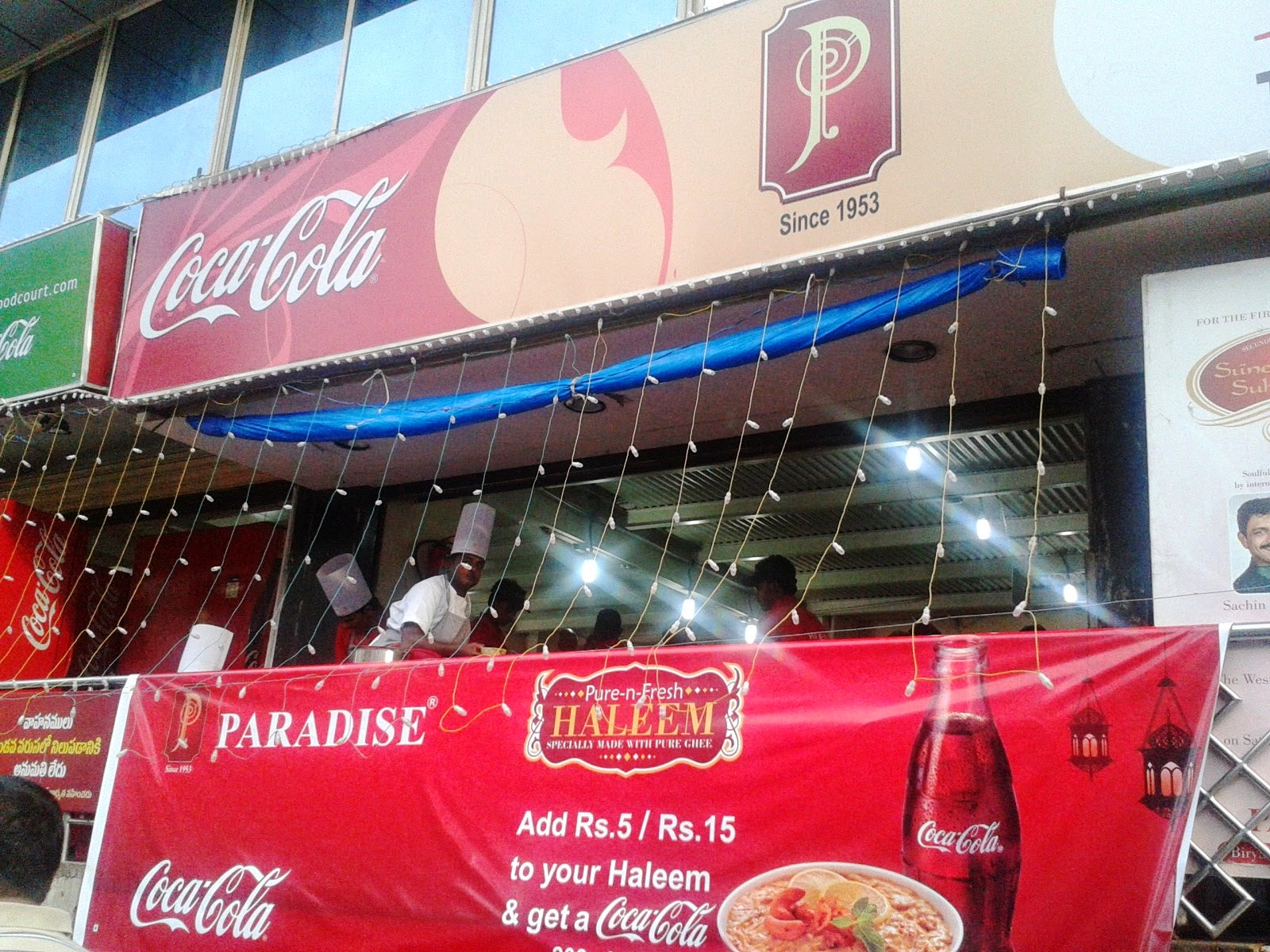 Foodaholix haleem Paradise counter