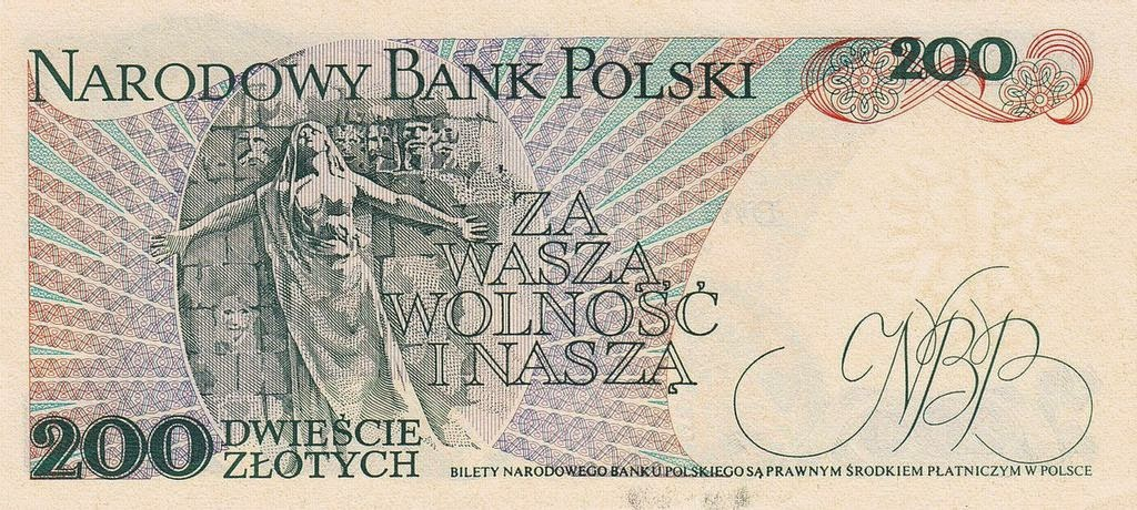 Poland Banknotes banknote 1988 Monument to Paris Commune Heroes at the Père Lachaise cemetery