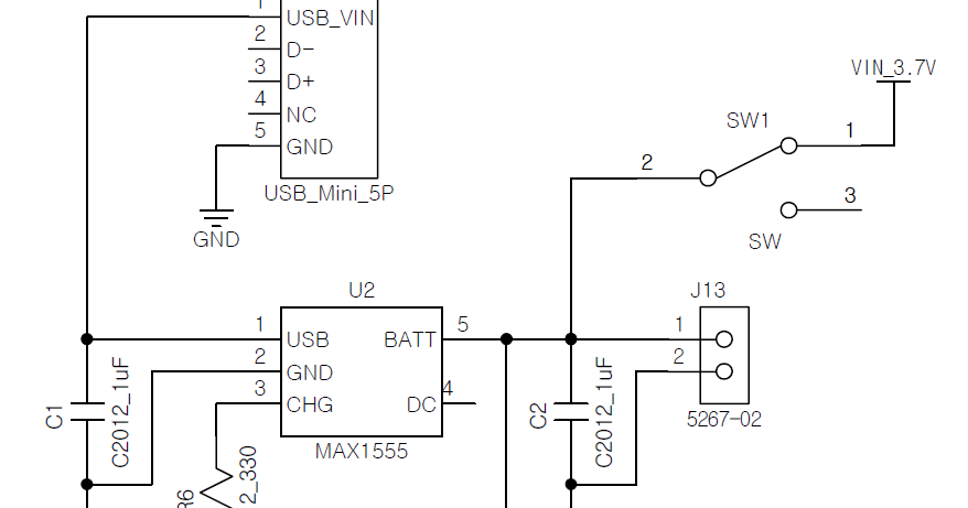 lithium ion lithium poly charger circuit