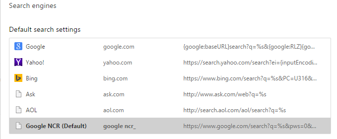 [TIP/TRICK] How to Force Google Chrome to Use Google.com Instead of Country Specific Version