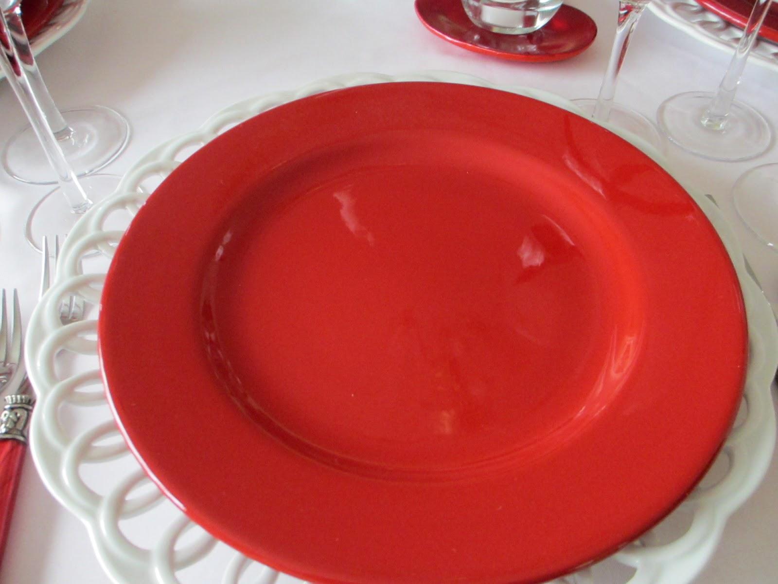 Waechtersbach Christmas Tree Dinner Plates