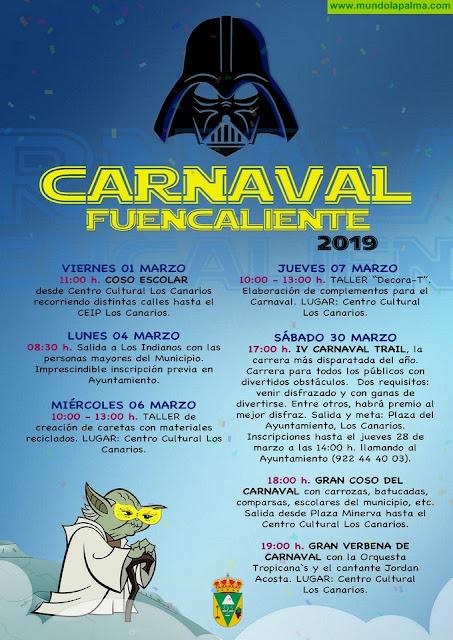 Fuencaliente presenta su programa de actos para este Carnaval 2019
