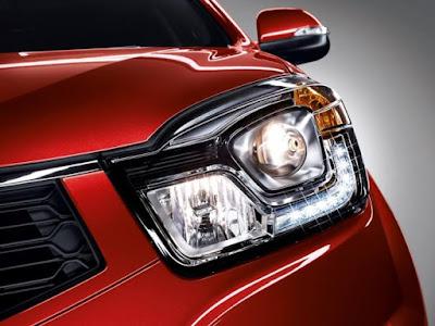 New 2017 SsangYong Korando C Headlight Image