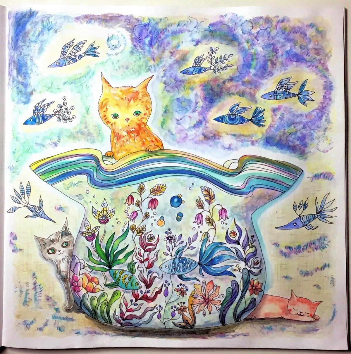 ミャオトピアの仲間たち 花と猫とどうぶつの物語 水槽のページ