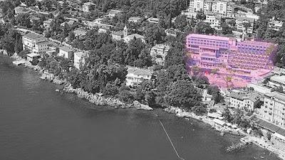 L'Hotel Adriatic ad Abbazia Opatija