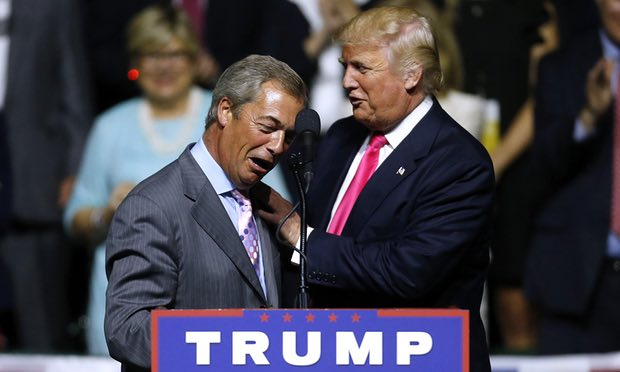 Nigel Farage is 'person of interest' in FBI investigation into Trump and Russia