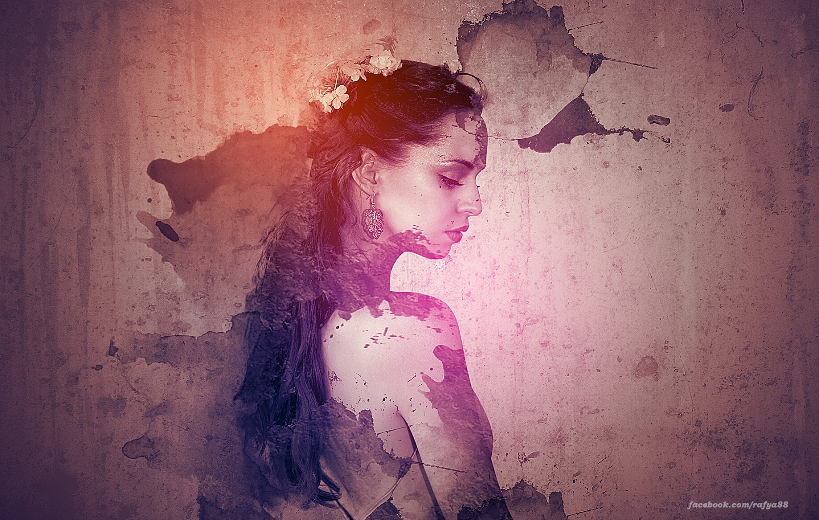 Abstract Photography Tutorial: Making Abstract Portrait Effect In Photoshop CC