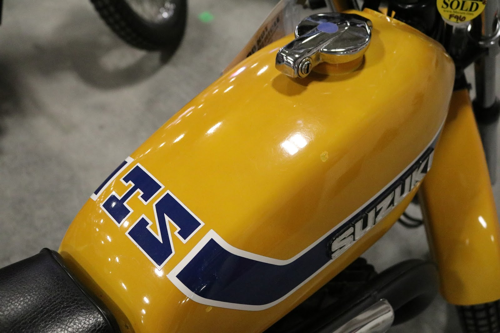 OldMotoDude: 1973 Suzuki TS185 sold for $3,250 at the 2017