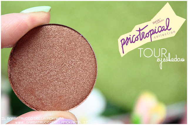 eyeshadow ombretti TOUR psicotropical collection neve cosmetics