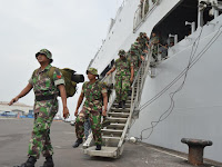 Purna Tugas Satgas TNI Bantu Banjir Bima