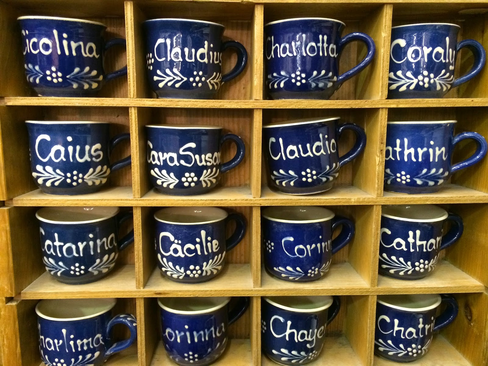 personalised mugs with german names