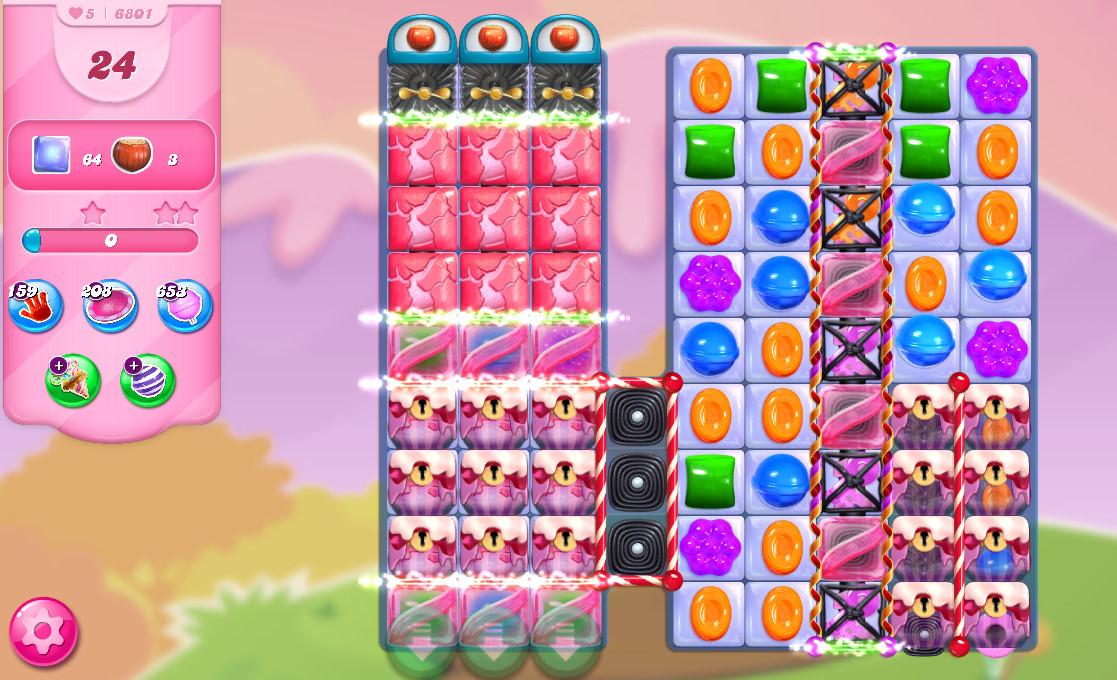 Candy Crush Saga level 6801