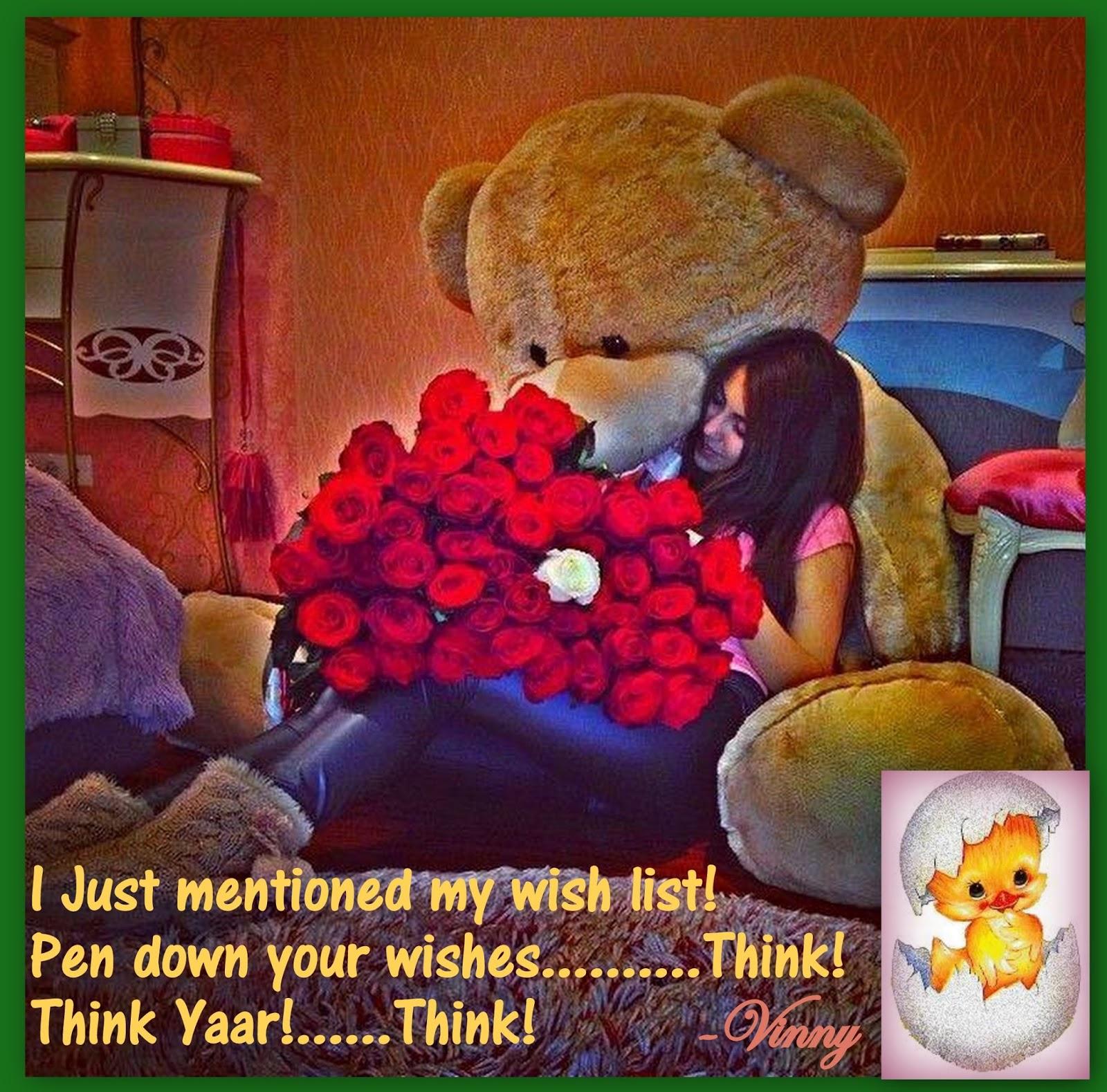 Vinny's wish list.................. :) :)