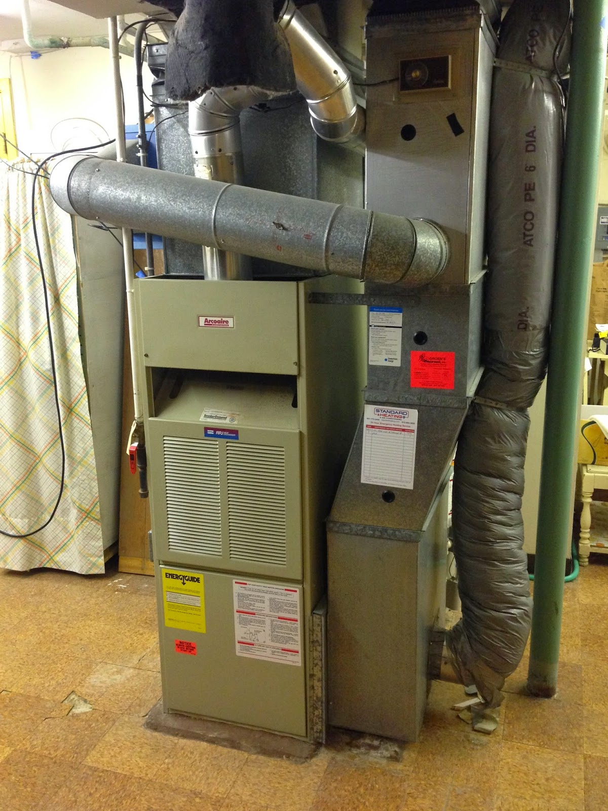 Jeremy's Blog: New furnace and air conditioner