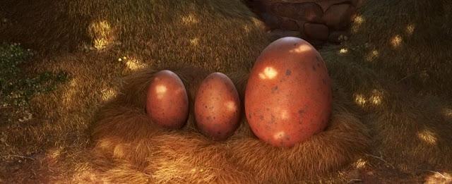3 Telur Brontosaurus