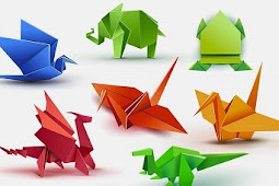 Origami as a entertaining and inexpensive hobby