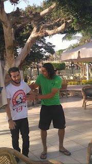 عمرو مرعي داخل النادي الاهلي
