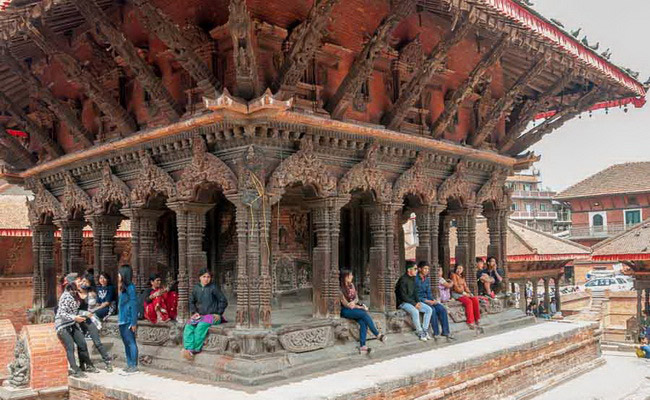 Xvlor.com Lalitpur or Patan is old city in Kathmandu Valley like an open-air museum