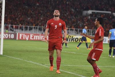 Paruh Pertama Persija Unggul dari Johor Darul Takjim Berkat Hat Trick Marko Simic