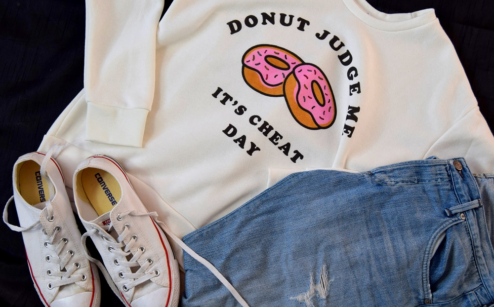 Fun Sweatshirts And Ripped Jeans: Outfit Of The Day