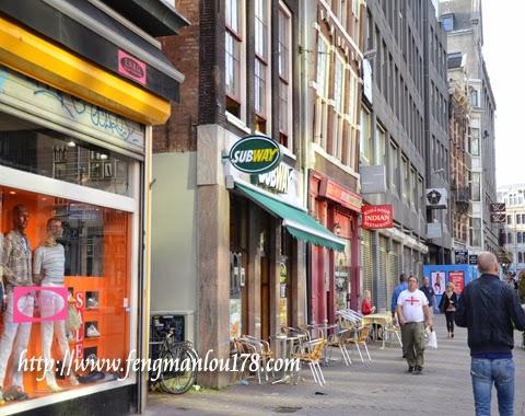 阿姆斯特丹地铁餐厅