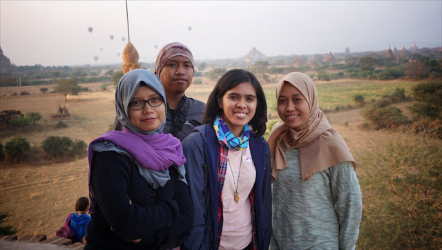 Sunrise di Bagan