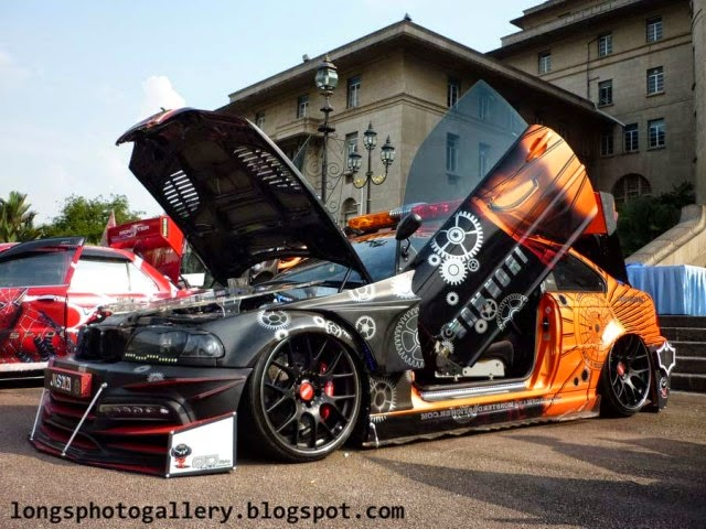 Foto Modifikasi Mobil BMW M3 Contest