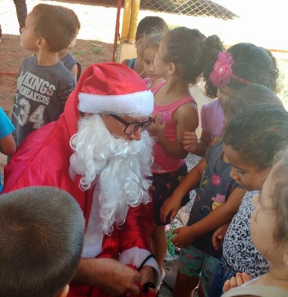 """Educação organiza o tradicional """"Papai Noel Nas Escolas"""""""