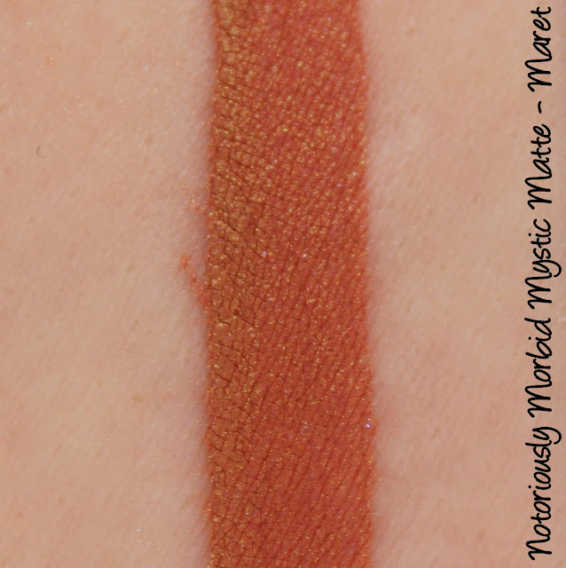 Notoriously Morbid Mystic Matte - Maret Swatches & Review