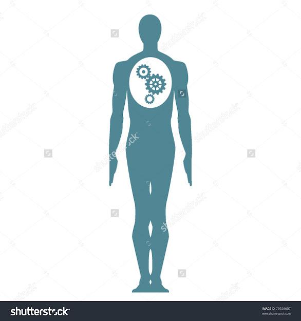 Gear Body Vector Illustration
