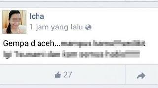 Astaghfirullah! Netizen Ini Senang Aceh Terkena Gempa dan Dia Doakan Terjadi Tsunami
