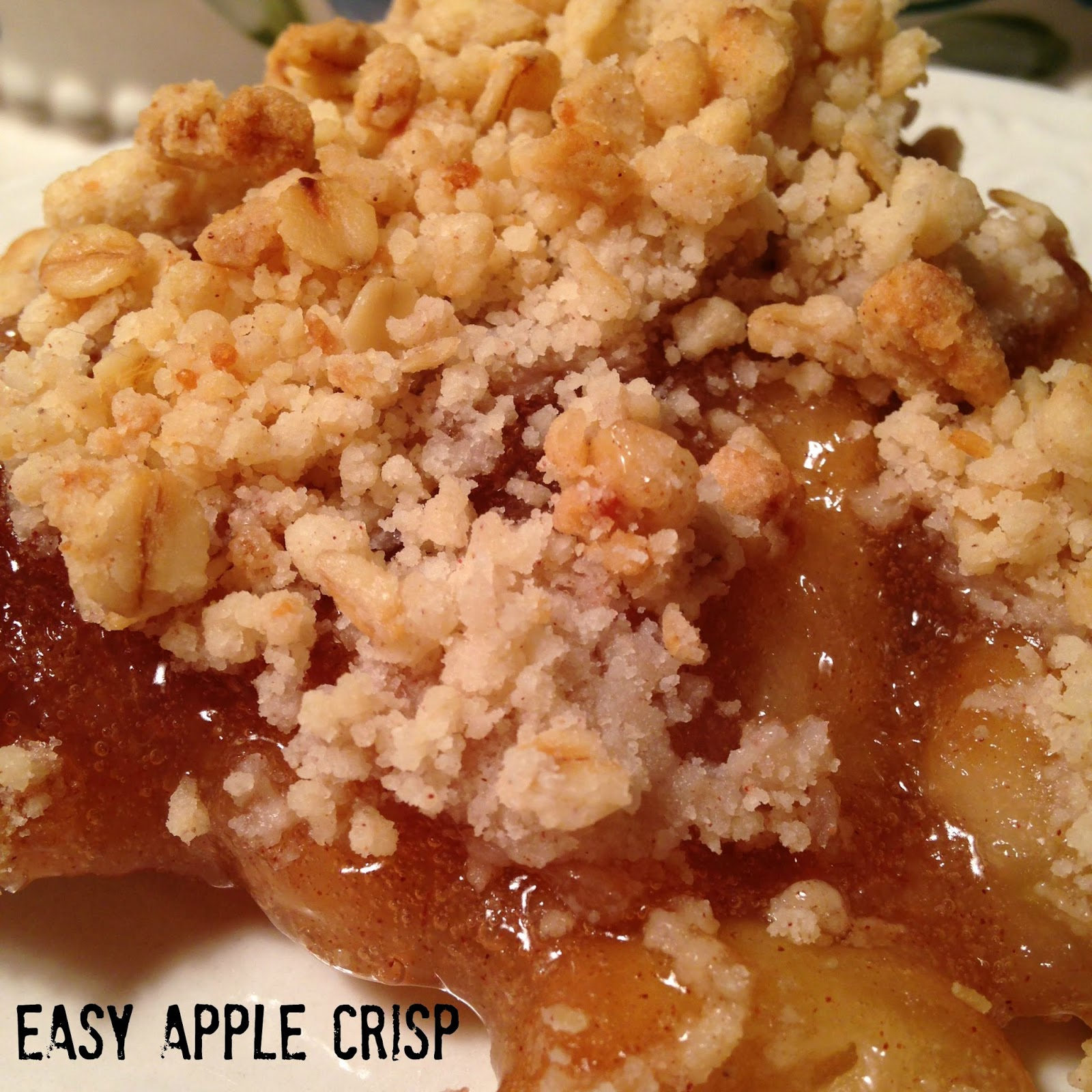 Easy Apple Crisp Turnips 2 Tangerines
