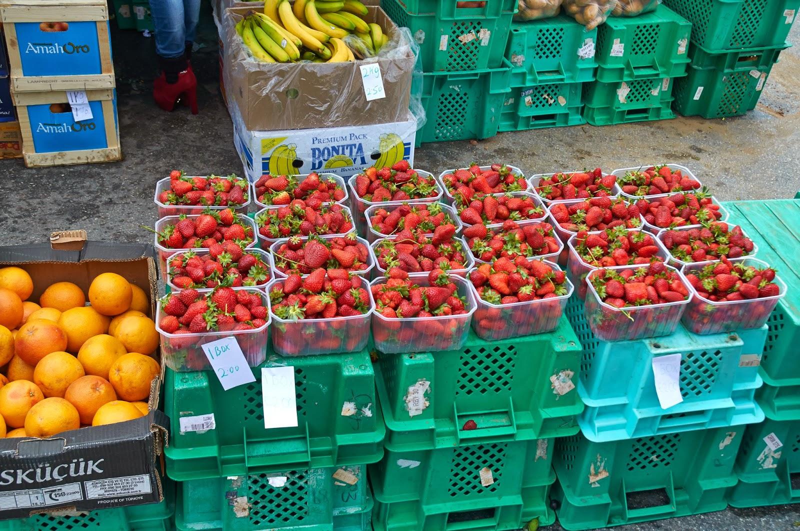 targ z owocami na Malcie