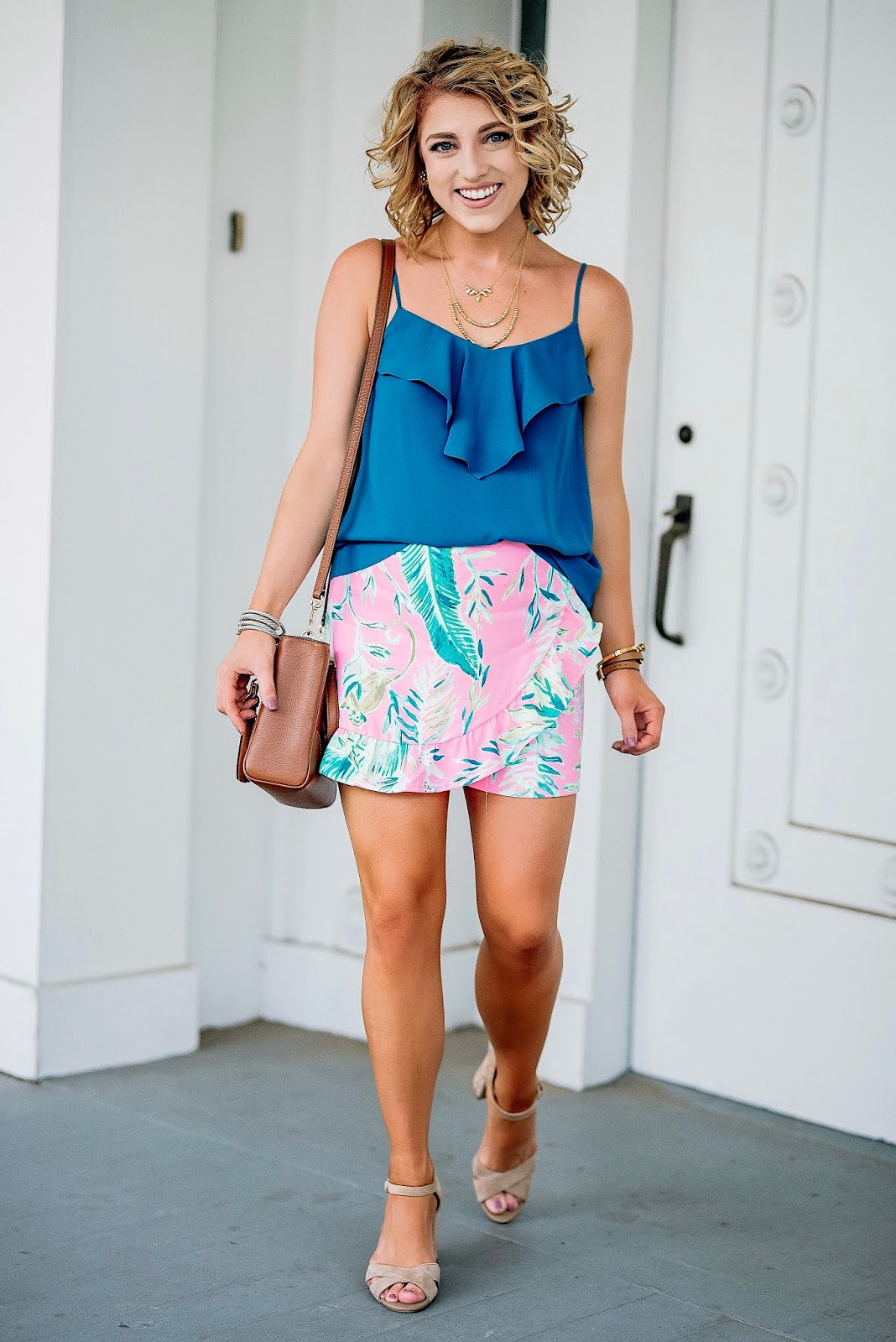 Lilly Pulitzer for Fall: Coral Reef Tint Chimpoiserie - Something Delightful Blog