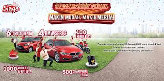 Promo Undian  Pesta Akhir Tahun Telkomsel 2016 Berhadiah Mobil BMW Seri 3