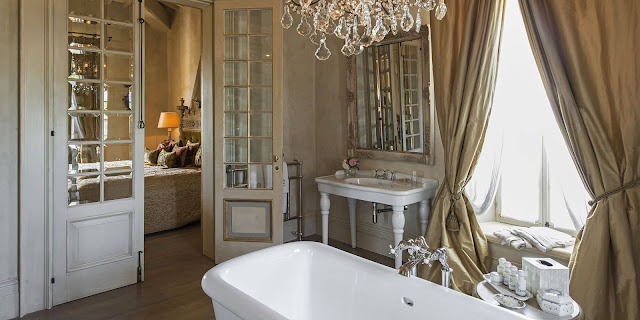Breathtaking image of the Italian villa Borgo Santo Pietro - found on Hello Lovely Studio