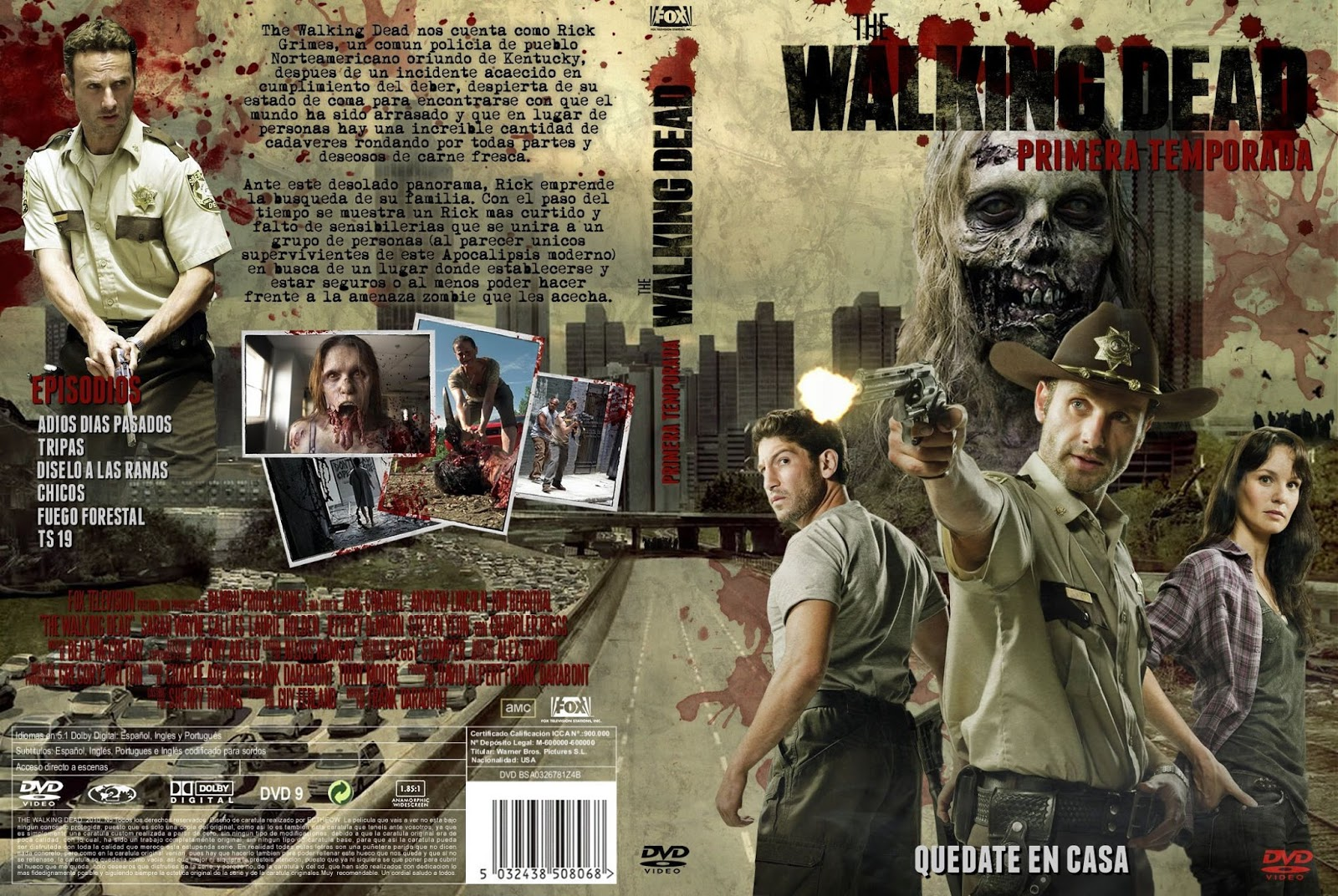 The Walking Dead [Temporada 1] [Latino] [DVD-Rip]