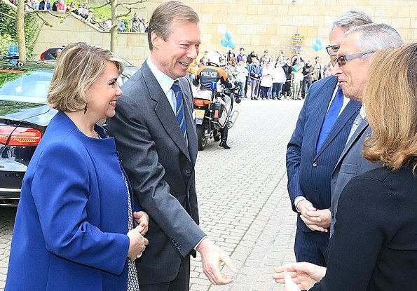Grand Duke Henri and Grand Duchess Maria Teresa attended celebrations of 50th anniversary of establishment of APEMH Foundation at Bettange Castle