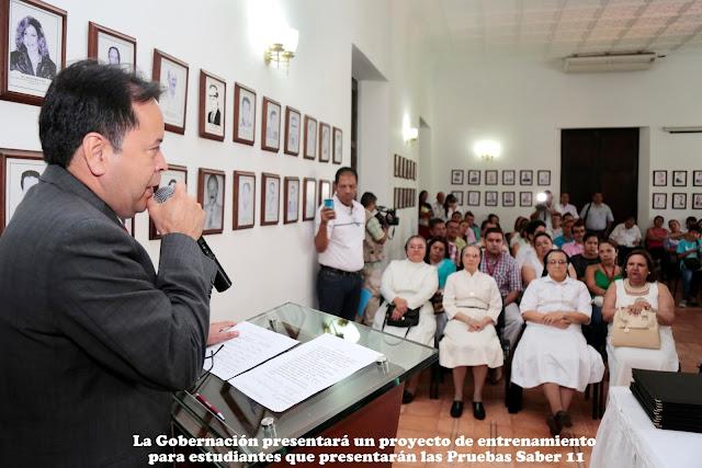 GoberNorte-SecEducación presenta proyecto ante OCAD para preparar estudiantes a Pruebas Saber 11 #RSY #OngCF