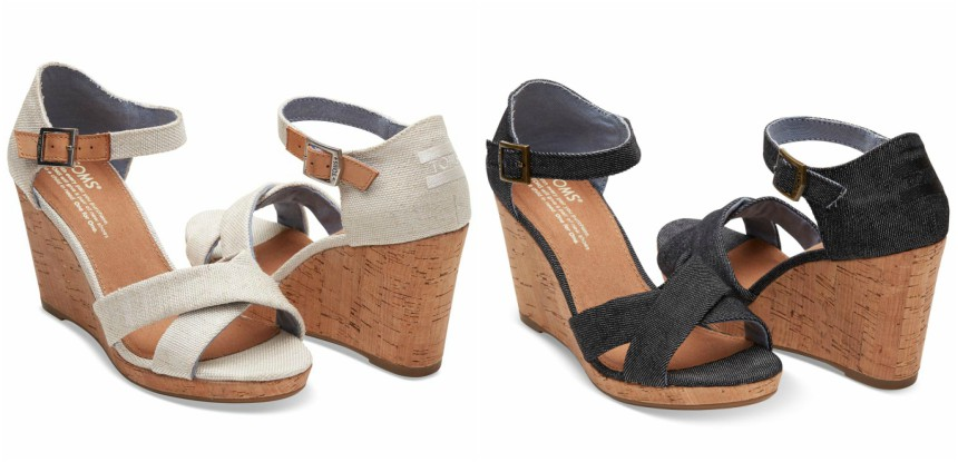 HSN: TOMS Sienna Wedge Sandals only $36 (reg $79) + Free Shipping!