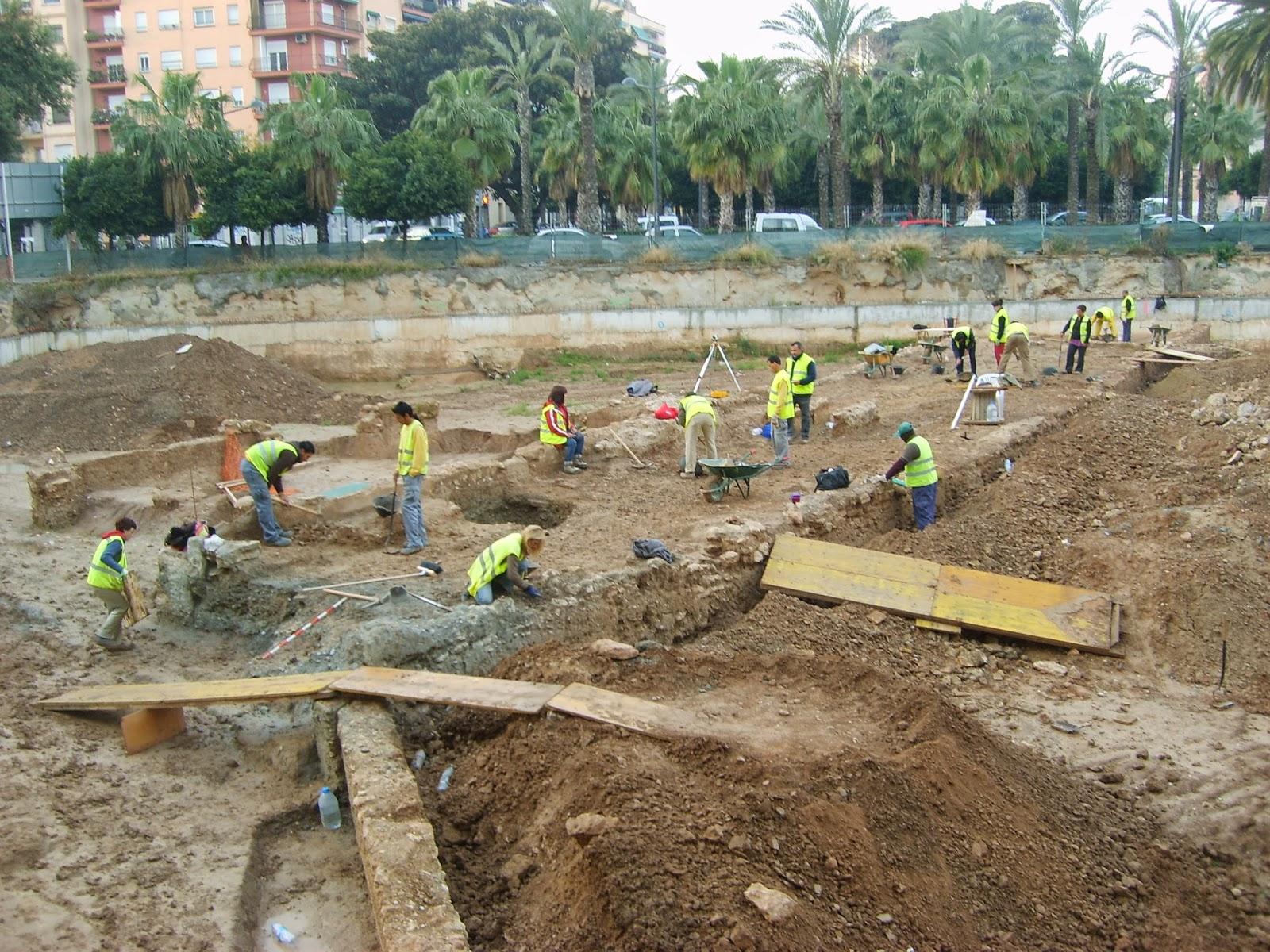 Ruinas calle Ruaya - Sagunto de Valencia, abril 2009
