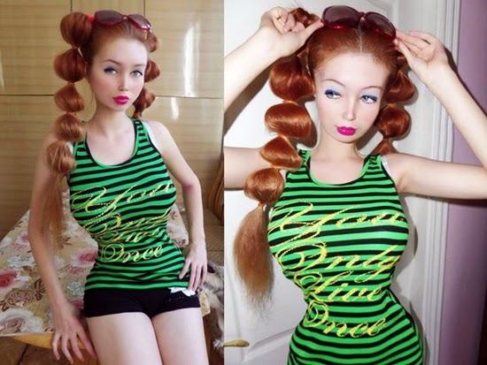 manusia barbie terbaru dari ukraina