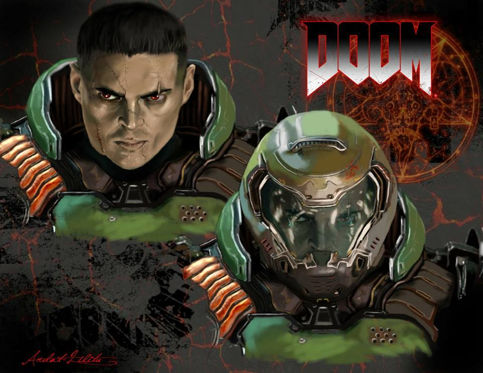 Karl Urban: Doom Slayer