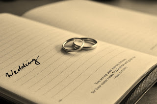 La fecha de la boda y las alianzas