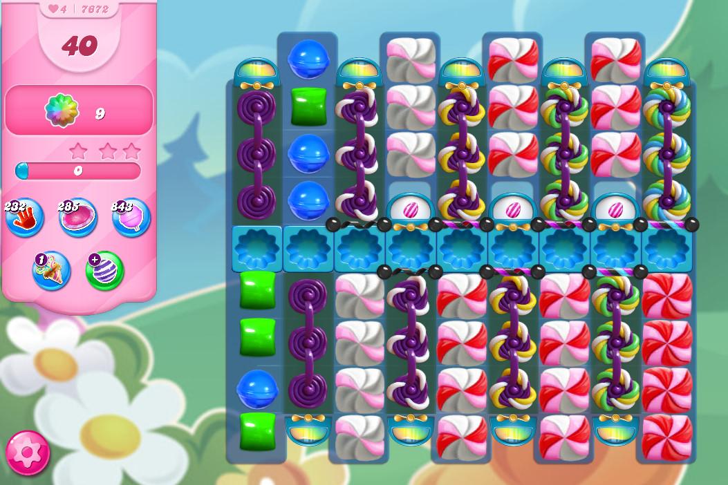 Candy Crush Saga level 7672