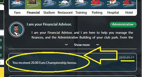 تم توزيع جوائز الدوريات الآن GoalTycoon Championship Bonus are Distributed
